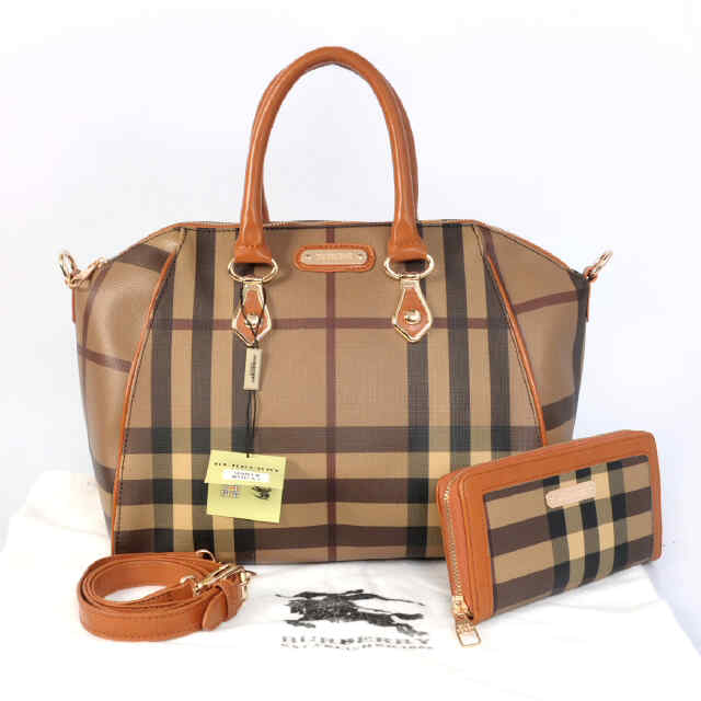 Tas Burberry Antigona Set Semi Super (kode BUR025) Yellow Brown