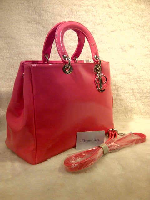 Tas Christian Dior Glossy 2316 Semi Super (kode CD002) Pink