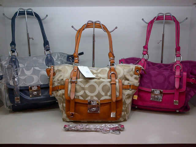 Tas Coach 8038 Super (kode COA058) Grey-Apricot-Burgundy