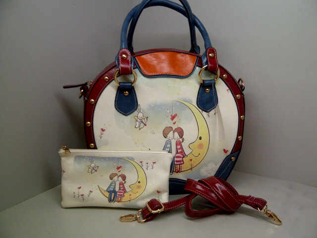 Tas Fashion 9820 Set (kode FAS011) Motif 6