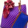 Tas Fashion Dolly 2 Tones Super (kode FAS012) Biru Fuschia