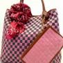 Tas Fashion Dolly 2 Tones Super (kode FAS012) Pink Hijau
