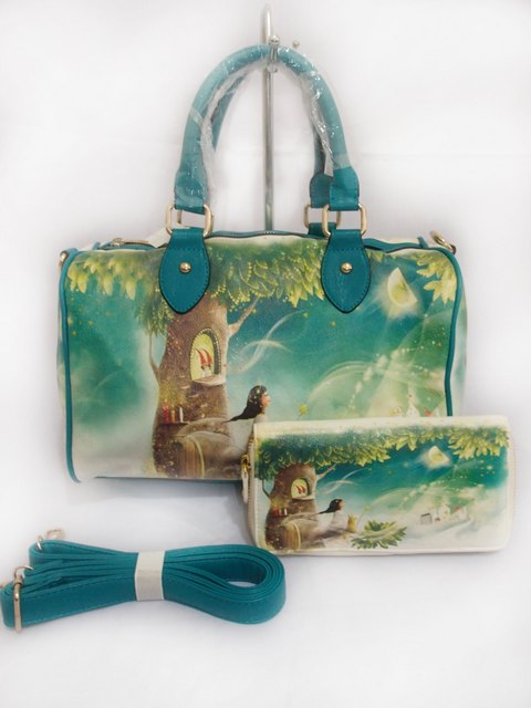 Tas Fashion Speedy Set 9798 (kode FAS003) Tosca