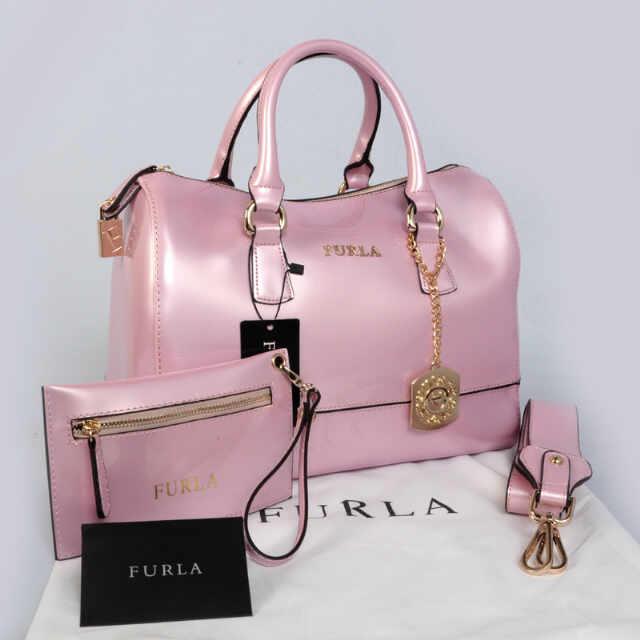 Tas Furla Candy Set Super (kode FUR040) Baby Pink
