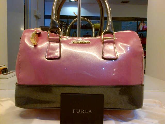 Tas Furla Speedy Glossy Semi Super (kode FUR007) Pink