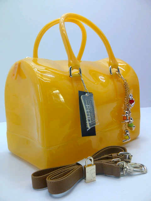 Tas Furla Speedy Jelly Semi Original (kode FUR042) Kuning