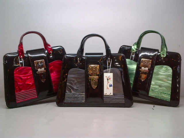 Tas Jinjing Pretty Girl 8303L (kode PRE002) Red-Black-Green