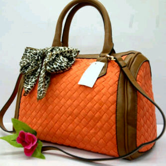 Tas Bottega Afifa Speedy 0098 (kode BOT035) Orange
