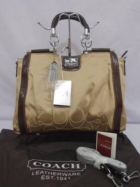 Tas Coach 9954 Super (kode COA002) Almond