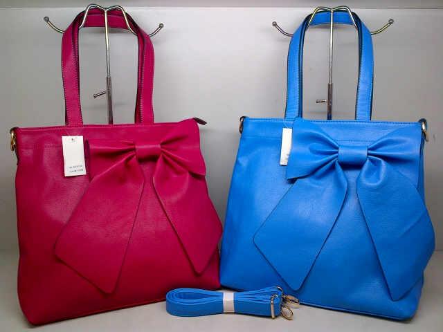 Tas Fashion 7071 (kode FAS016) Pink Fuschia-Biru