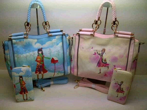 Tas Fashion Set 9779 (kode FAS007) Motif 7-8