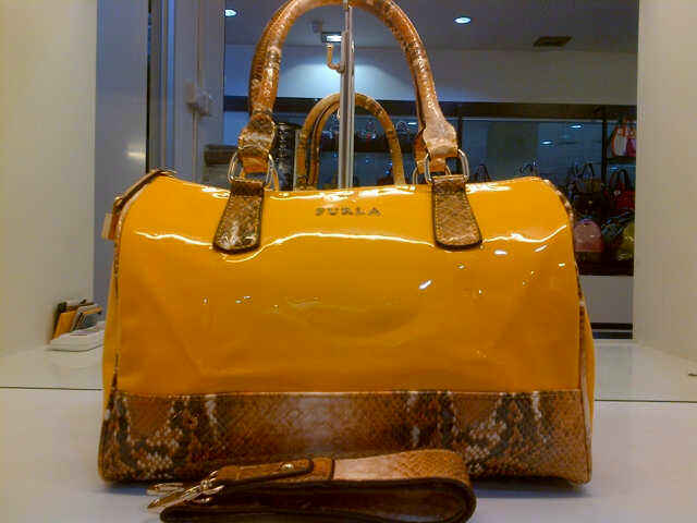 Tas Furla Speedy Snake Semi Super (kode FUR006) Orange